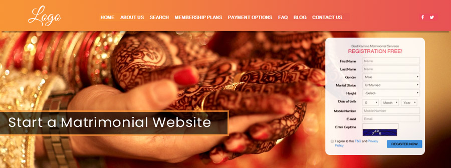 Matrimonial Website Development in Delhi NCR, Matrimonial Portal Development Company, Matrimonial Website Development Cost @Webinfosys